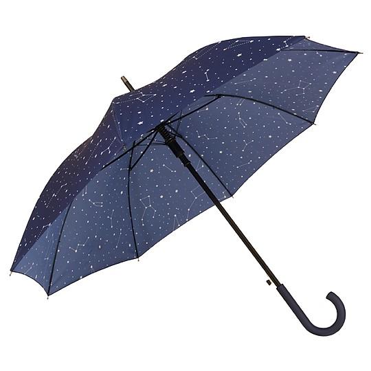 Paraguas automático con constelaciones