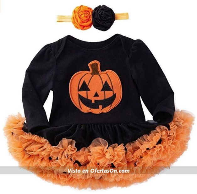 Vestido de Halloween para bebés de 0 a 18 meses K youth