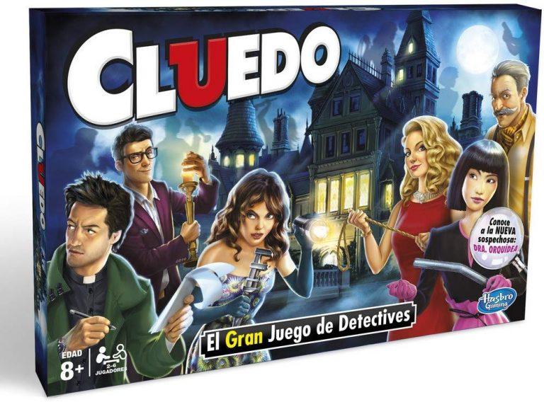 Juego de mesa Cluedo clásico de Hasbro