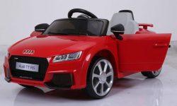 Coche eléctrico Audi TT RS para niños