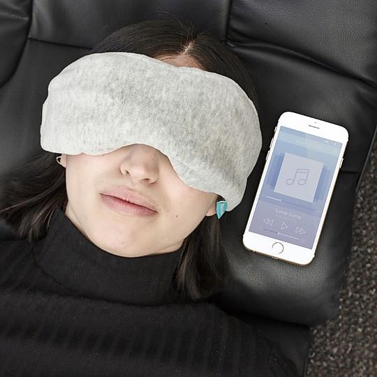 antifaz para dormir con auriculares bluetooth