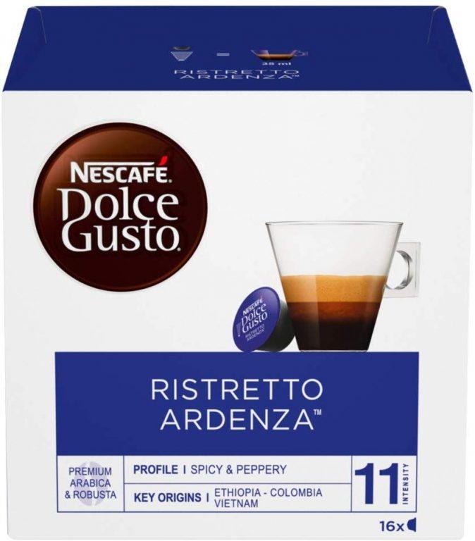 Cápsulas Nescafé Dolce Gusto Café Ristretto Ardenza 48 Cápsulas