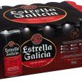 Pack de latas de Cervezas Estrella Galicia 24 x 330 ml