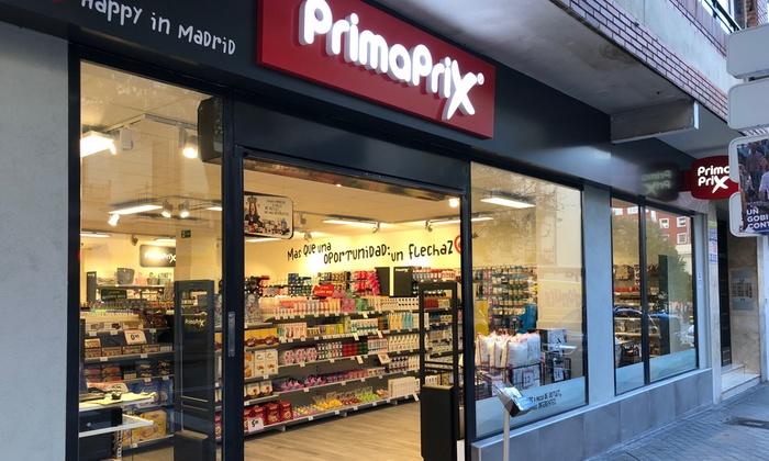 Supermercados Primaprix de toda España consigue un descuento de 4€ pagando solo 1€