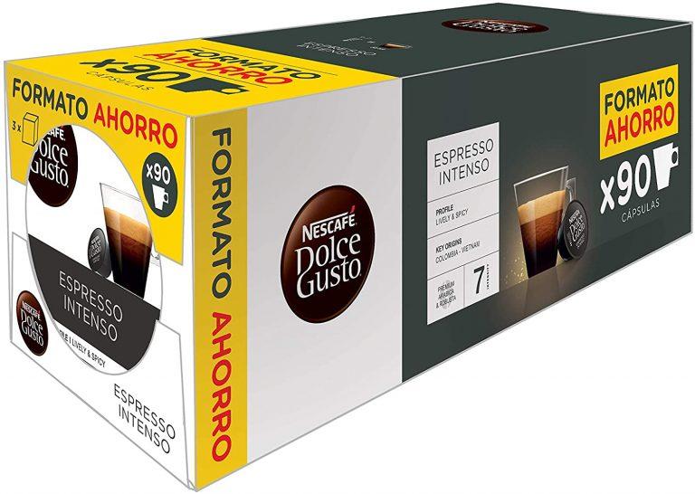 90 Cápsulas Nescafé Dolce Gusto Magnum Espresso Intenso