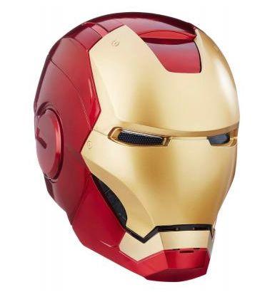 Casco electrónico de Iron Man a escala real de Hasbro