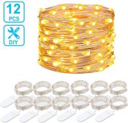 Guirnaldas de luces LED 12 unidades de 1 metro Govee