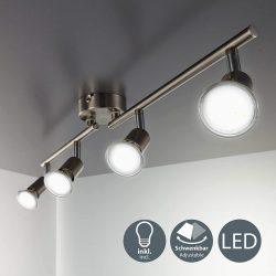 Lámpara de techo LED con 4 focos B.K.Licht