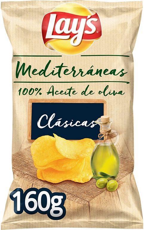Patatas fritas Lays Mediterráneas 160gr