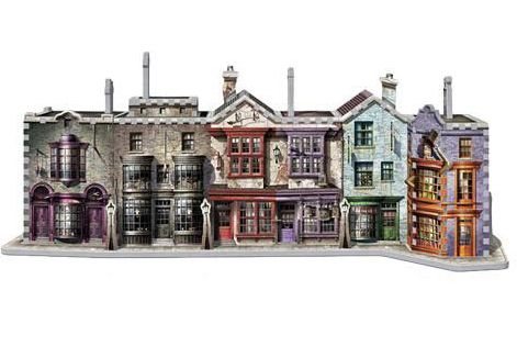 Puzle 3D Callejón Diagon Harry Potter 450 piezas