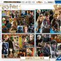 Puzles infantiles de Harry Potter 4x100 piezas Ravensburger