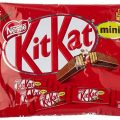 Snack de chocolate Nestlé KitKat Mini 200gr