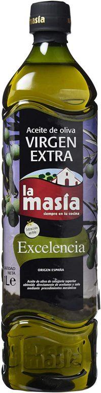Aceite de oliva virgen extra La Masia Excelencia 1 L