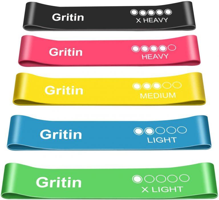 Bandas elásticas para fitness Gritin