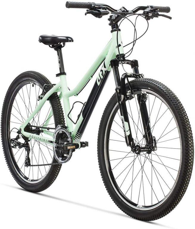 Bicicleta de montaña AFX 26 Aquitania verde claro