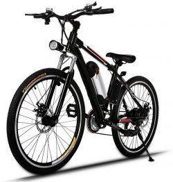 Bicicleta de montaña eléctrica Profun AMDirect 26