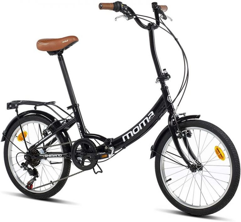 Bicicleta plegable Moma Bikes First Class 20