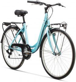 Bicicleta urbana AFX Helsinki 26 color azul claro