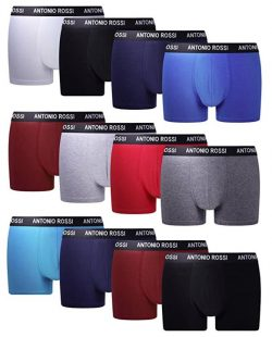 Calzoncillos boxer FM London Fitted Pack de 12