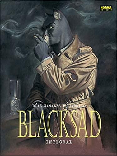 Novela gráfica Blacksad integral vol 1 al 5 Tapa dura