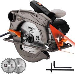 Sierra circular Tacklife 1500W 4700 RPM