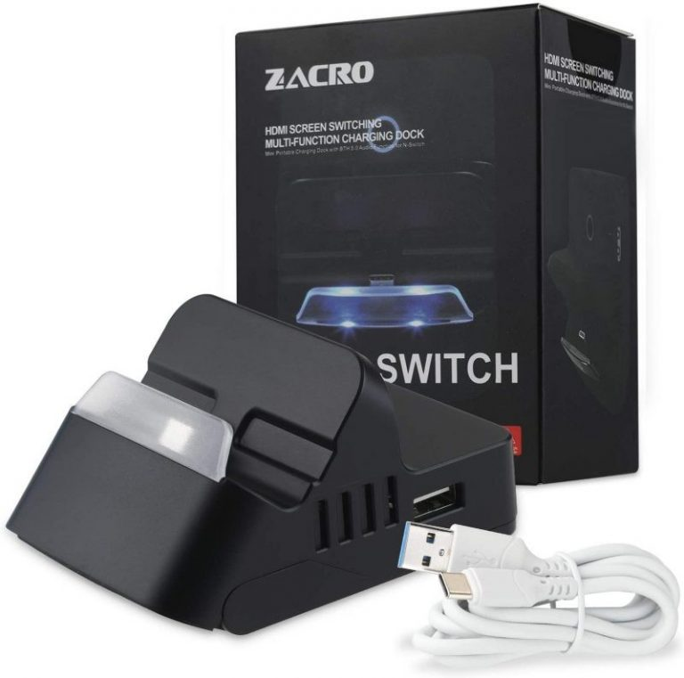 Dock para Nintendo Switch Zacro