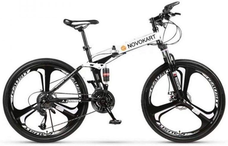 Bicicleta de montaña plegable Novokart 24 26 pulgadas
