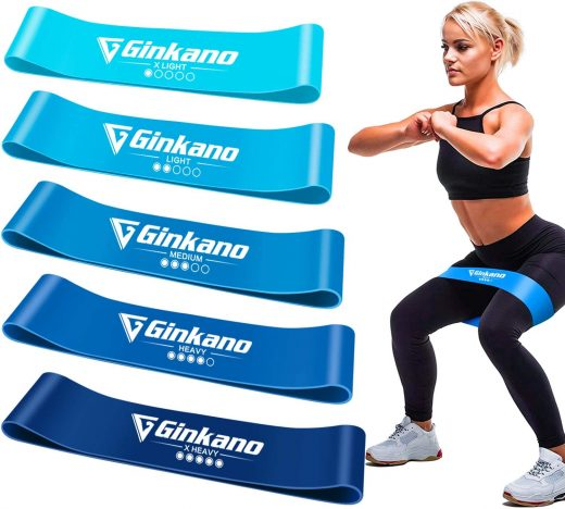 Bandas elasticas para fitness Haquno