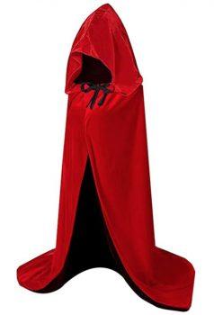 Capa con capucha para Halloween HBselect varios colores y tallas
