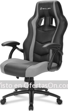 Silla de escritorio gaming Sharkoon SKILLER SGS1