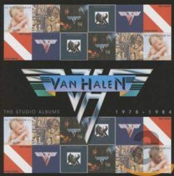 Van Halen The Studio Albums 1978 1984 6 CD