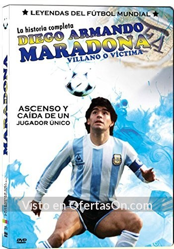 documental maradona la historia completa dvd