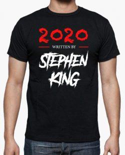 Camiseta 2020 Written by Stephen King