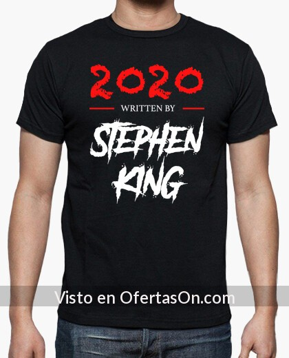 Camiseta 2020 Written by Stephen King