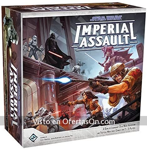 Juego de mesa Star Wars Imperial Assault Asalto Imperial
