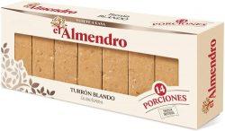 Porciones de turron blando El Almendro