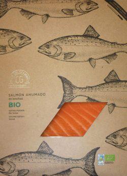 Salmon ahumado ecologico Club del Gourmet
