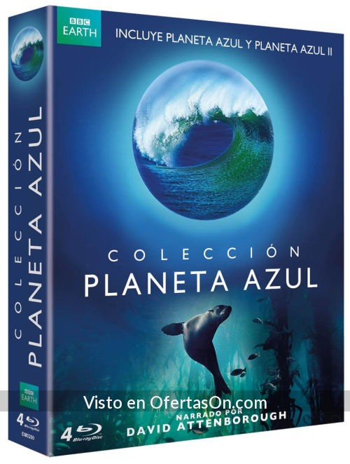 documentales planeta azul 1 y 2 blu ray