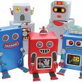 papel de regalo robot de luckies of london