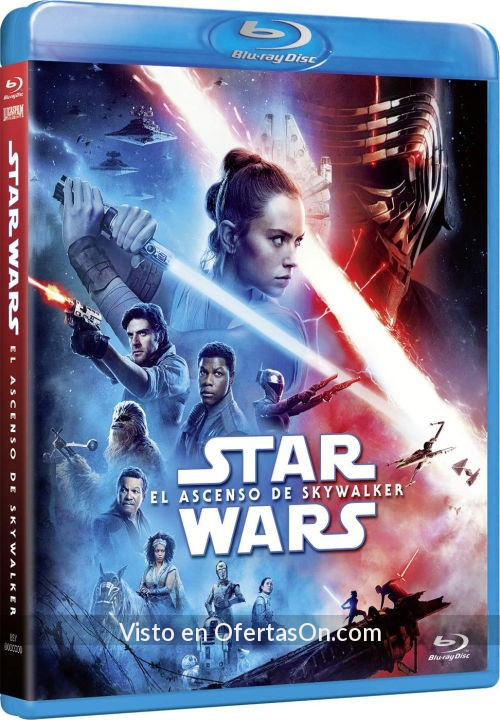 star wars el ascenso de skywalker blu ray