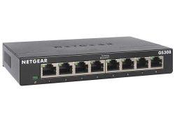 Switch de 8 puertos Netgear GS308 300PES