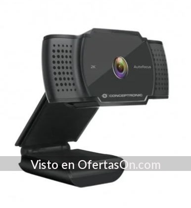 Webcam Conceptronic AMDIS02B 2K SuperHD