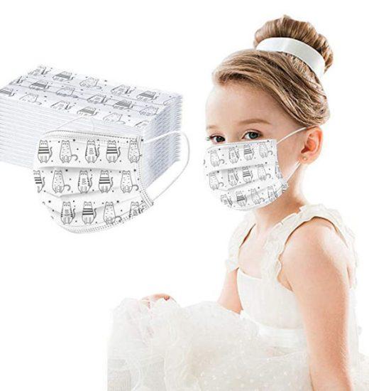 Mascarillas infantiles con disenos variados ProtecCCCion DDDoctor