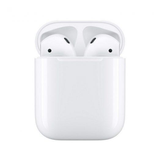 Auriculares inalambricos Apple Airpods V2 con Estuche de Carga