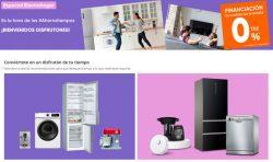 PC Componentes Descuentos en Hogar y Pequeno Electrodomesticos hasta el 6 de junio financiacion 12 meses 0 TAE