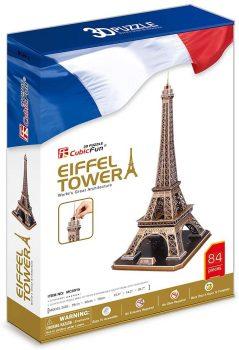 Puzzle 3D Torre Eiffel de Cubicfun