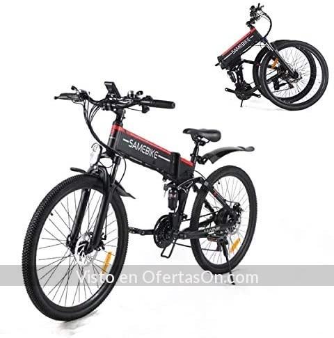 Bicicleta de montana electrica plegable Samebike 26