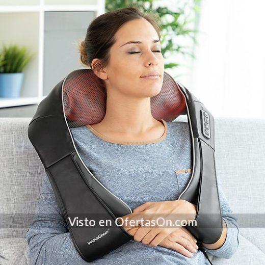 masajeador shiatsu con funcion de calor