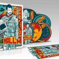 Box Set Coque Malla El Astronauta Gigante 5 CD Postal Firmada