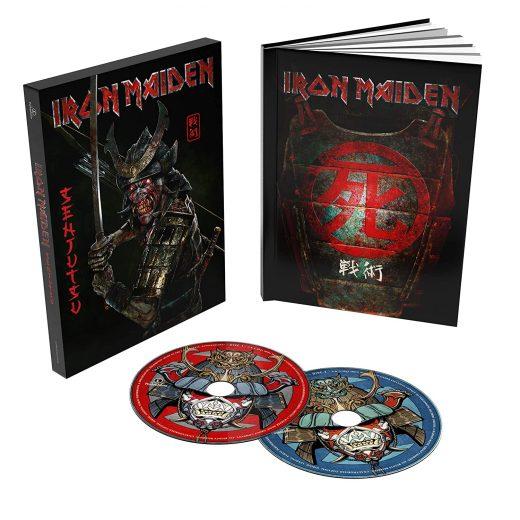 Disco Iron Maiden Senjutsu 2 CD Deluxe Formato Libro